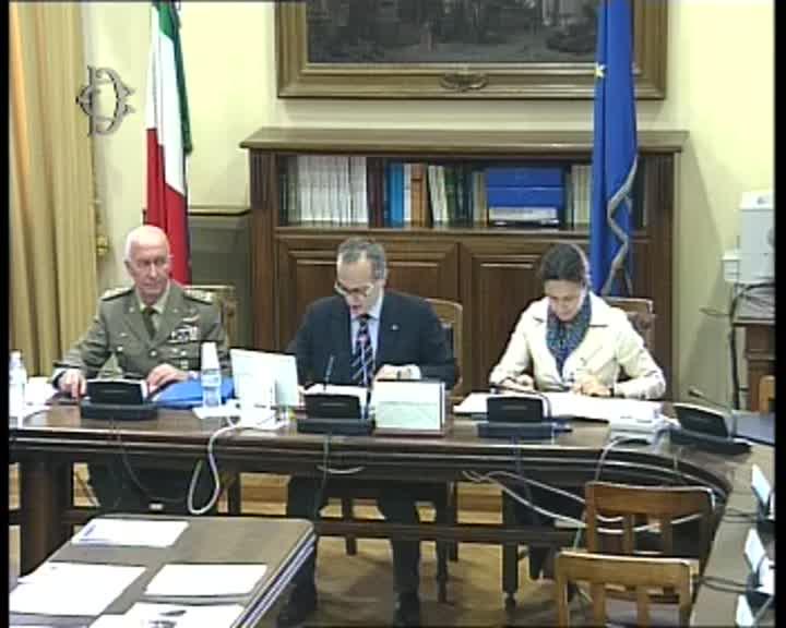 Commissione difesa sistemi d 39 arma audizione generale for Commissione difesa camera