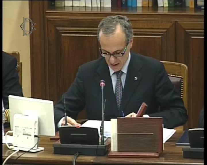 Commissioni riunite difesa audizione capo di stato for Commissione difesa camera