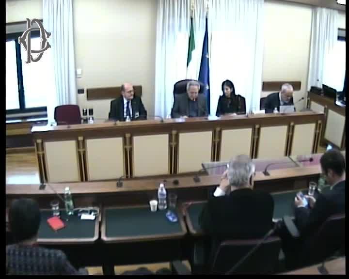 Commissione uranio impoverito audizione covato stato for Web tv camera