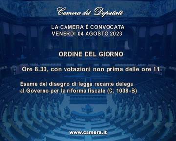 Home page webtv for Web tv camera deputati